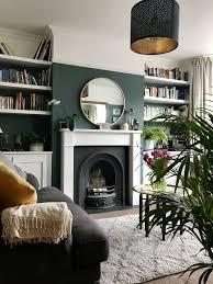 1930 House Design Ideas Farrow And Ball Inchyra Blue 1930s Semi Detached Living Room