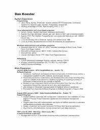 Mysql Dba Resume Sample Inspirational Cover Letter Database