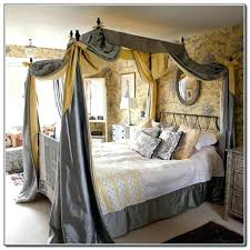 King Canopy Bed Frame Queen Cheap Curtains For Elegant With Design ...