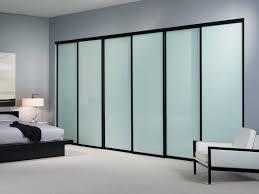large sliding glass closet doors