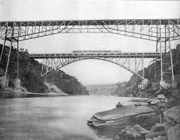 both bridges in 1901