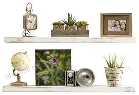 3 true floating shelves set of 2 farmhouse display and wall shelves