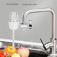 <b>Thickening</b> 7 Layer Water Purifier for Tap Faucet Mount Home Water ...