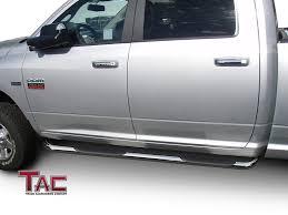 TAC Side Steps for 2009-2018 Dodge RAM 1500 Crew Cab (Incl. 2019 Ram ...