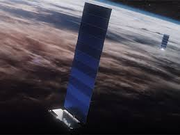 The starlink satellites feature a flat panel design with a single solar panel and have a mass of about 260 kg. Starlink Block V1 0 Gunter S Space Page