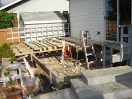 cantilever patio hanging deck stairs on a cantilever building construction
