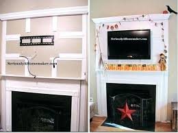hiding tv wires above fireplace above fireplace hiding wires mount on brick fireplace on brick info hiding tv wires above fireplace