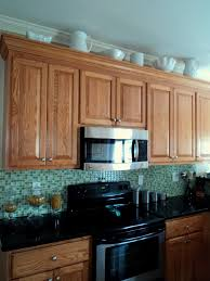 What Do Kitchen Cabinets Richmond Thrifter Who Has Weird Space Above Their Kitchen Cabinets