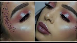 pink vajazzle fairy makeup tutorial