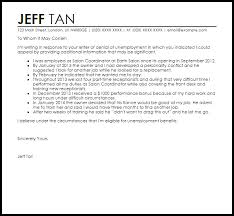 Appeal Letter For Unemployment Disqualification Simple Screnshoots