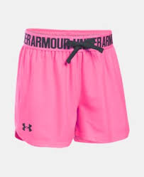 under armour shorts for girls. best seller girls\u0027 ua play up shorts 7 colors $14.99 to $19.99 under armour for girls t