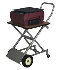 Folding Office Table Cart Collapsible Folding Printer Cart