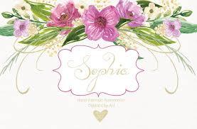 Watercolor hand painted cliparts, mason jar, wedding clipart, watercolour  flower, floral, hand painted flower by designloverstudio | TheHungryJPEG.com