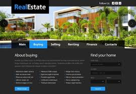 website templates download free designs 11 real estate website templates themes free premium free