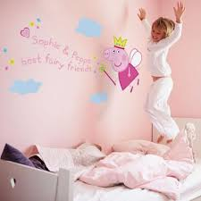 peppa pig wall art stickers