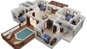 house plan autocad 2017 1 st floor drawing 2d house plan part 3 you