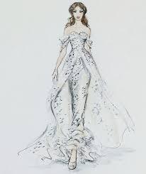 Best 25 Wedding Dress Sketches Ideas On Pinterest From Gown Dress
