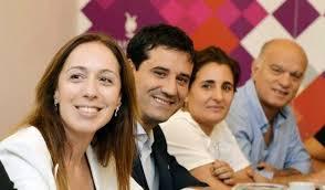 """Vidal encabezó reunión provincial de Juntos por el Cambio y pidió """"unidad""""  y """"responsabilidad"""", aunque le empiezan a marcar la cancha a Kicillof"""