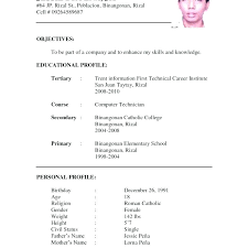 resume model for job formal resume sample word doc resume template new model formal