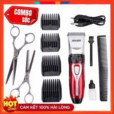 Tông Đơ Cắt Tóc Gia Đình Jichen JC-0817- Tặng kéo cắt tỉa tóc, Giá tháng  11/2020