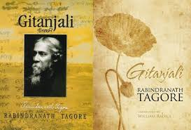 Image result for Image of Tagore and Gitanjali