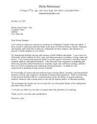 Cover Letter For English Professor Position Adriangatton Com