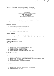 How To Write A Resume For College Application High School Senior