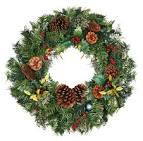 Венки новогодние и новогодние елки