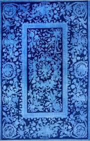 rug blue turkish pale