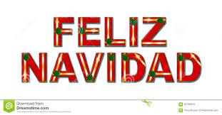 Feliz Navidad Holiday Gift Text Background Stock Photo - Image Of ...