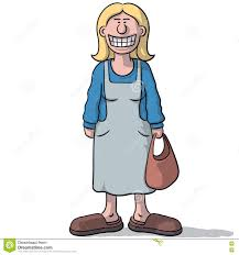 Image result for cartoon illustration of a laughing woman