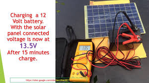 <b>Solar</b> Panel <b>10W</b> for <b>12V</b> units - YouTube