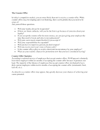 how to write a job negotiation letter cover letter templates counter offer a job salary negotiation techniques for