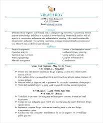 Sample Resume Of Civil Engineer Blaisewashere Com