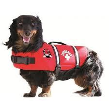 Paws Aboard Red Neoprene Pet Life Vest