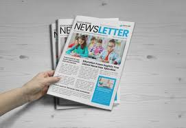 Education Newsletter Templates Education Newsletter Template School Newsletter Brochure Design Newspaper Template
