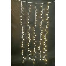 Home Accents Holiday 7 Ft 300 Light Led Warm White Multi Function Icicle Light String