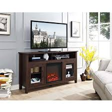 view a larger image of walker edison highboy fireplace tv stand for 60 inch screens
