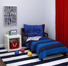 white toddler bedding set carters all star sports theme 4 piece toddler bedding set navy red
