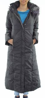Quilted Coat Puffer Fur Collar Hooded Jacket Parka Ladies Winter ... & Womens Quilted Coat Puffer Fur Collar Hooded Jacket Parka Ladies Winter  Jackets Adamdwight.com