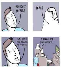 FunniestMemes.com - Funny Memes - [Heavenly Father? Yeah?] via Relatably.com