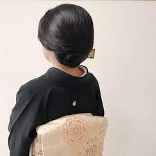 アルマリアン福岡 列席 ご親族 留袖着付けヘアセット50代 60代