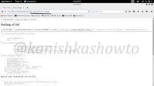 Upload Shell And Hack A Website Part 2 Web Shells In Kali Linux