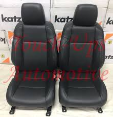 2016 2017 2018 tacoma double cab sr sr5 trd katzkin black leather seat covers