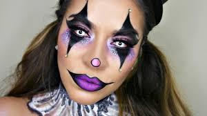 y glam circus clown makeup tutorial makeup