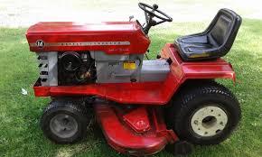 massey ferguson 14 mf14 hydrostatic garden tractor w deck snow plow masseyferguson