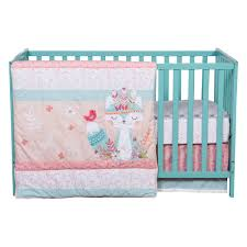 wild forever piece crib bedding set trend lab jungle friends deluxe flannel burp cloths wildforever