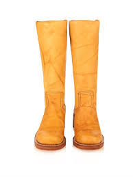 Light Tan Boots Campus 14l Leather Boots