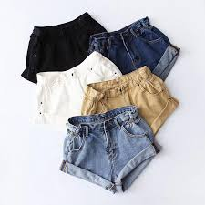 2018 Summer Europe and America <b>Women Casual Jeans</b> Shorts ...