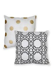 Decorative Pillow Set Amrapur Decorative Pillow Set Of 2 18 X 18 Tile